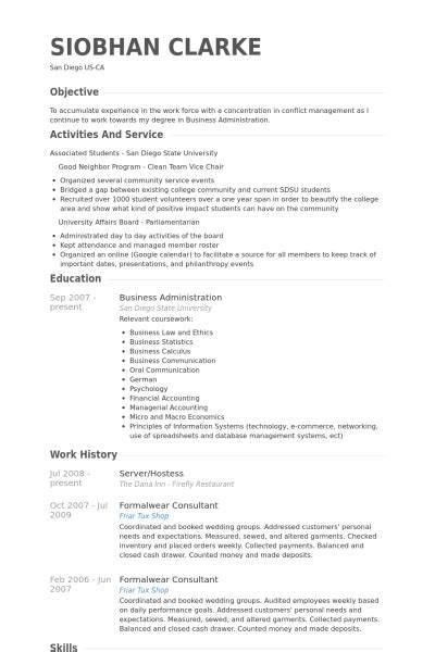 Host Resume Online by Host Resume Online Best Resume Gallery