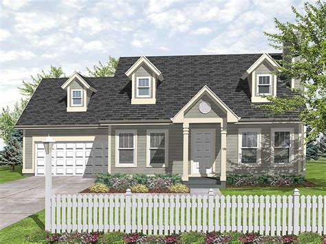 cape cod house plans with attached garage plan 016h 0020 find unique house plans home plans and
