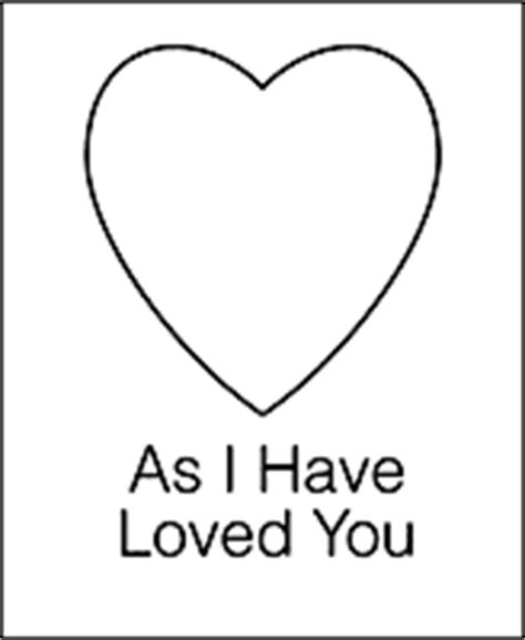 lds coloring pages love one another primary 2 choose the right a lesson 32 love one another