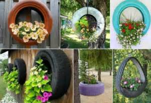 Car Tyres For Garden Teacup Tyre Planters Guides Inspiring Ideas