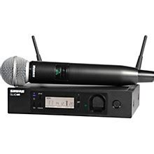 Shure Mic Wireless Ulx 7 5 handheld microphone wireless systems musician s friend