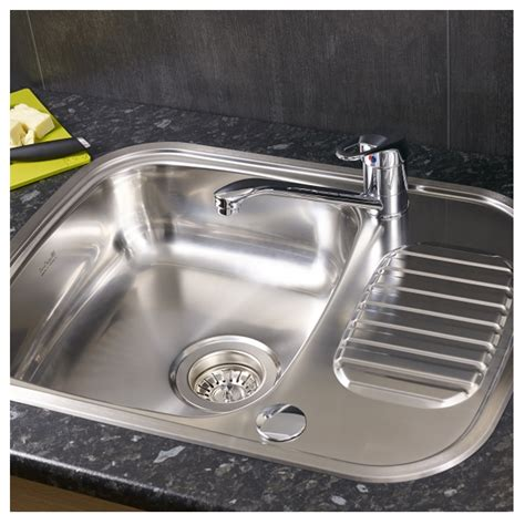 Reginox Kitchen Sinks by Reginox Regidrain Single Bowl Sink Sinks Taps