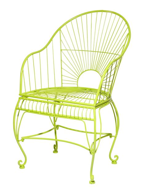 how to paint wrought iron furniture hgtv
