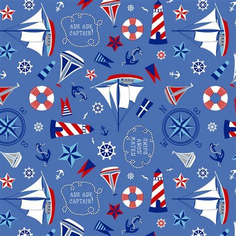 Sailboat Quilt Fabric by Layer Cake Smooth Sailing Stack Quilt Fabric Nautical