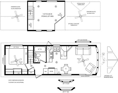 park model floor plans cabin loft rv s cavco park models