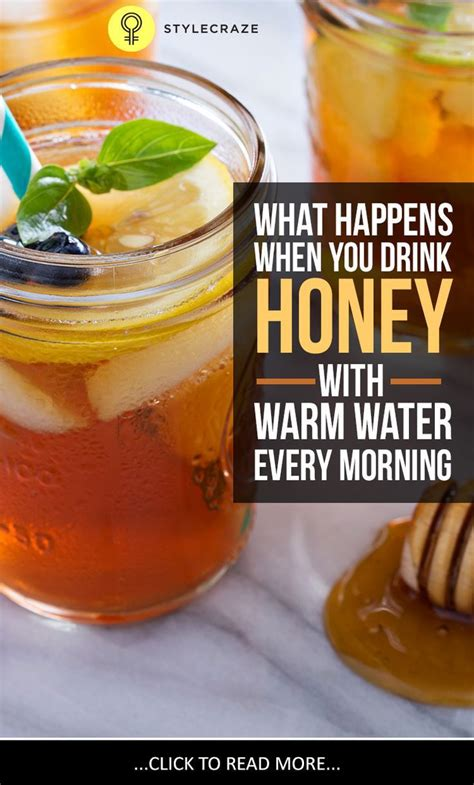 Detox Water Every Morning by I Drank Honey With Warm Water On An Empty Stomach Every