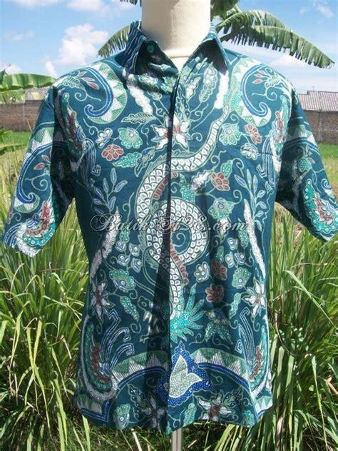 Hem Batik 042 batik tulis kemeja pria harga murah berkwalitas ld042