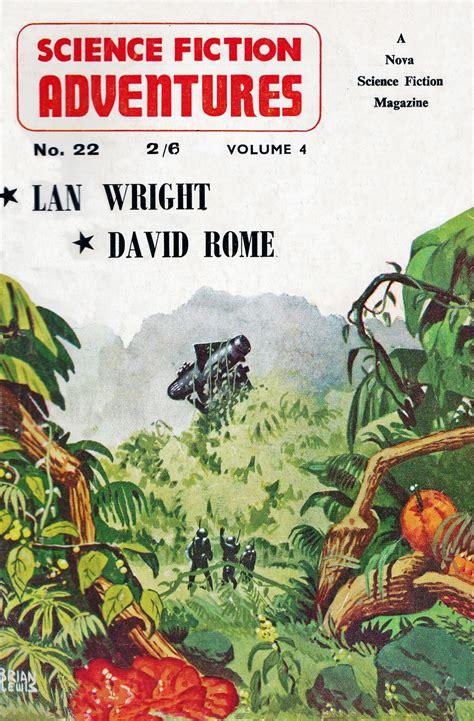 science fiction adventures vol   cover art brian lewis science fiction magazines