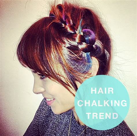 is hair chalk over hair chalking trend hair extensions blog hair