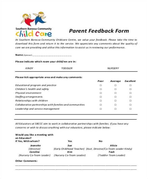 parent survey template student survey beginning of year