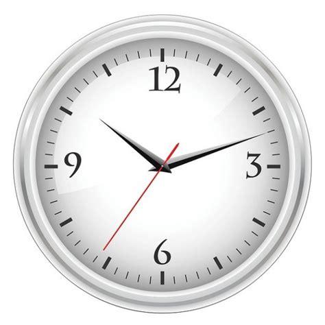 Horloge De Bureau Blanc T 233 L 233 Charger Des Vecteurs Horloge De Bureau