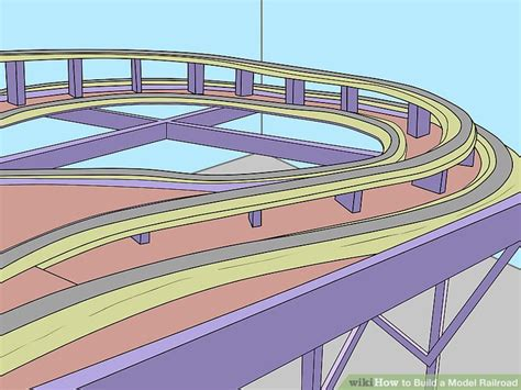 How To Paint Mural On Wall how to build a model railroad 13 steps with pictures