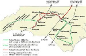 future service rail and amtrak service in carolina