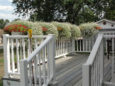 Apollo Deck Rail Planters by Railing Planters Decks And Plastic On