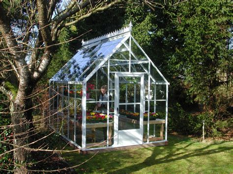 Cottage Style House by Cape Cod Glass Greenhouse Gothic Arch Greenhouses