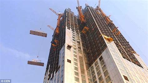 How To Make A Tower With One Of Paper - china s broad builds 57 story tower in 19 days