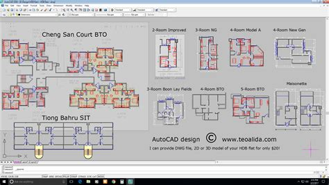 hdb floor plans in dwg format autocad design teoalida