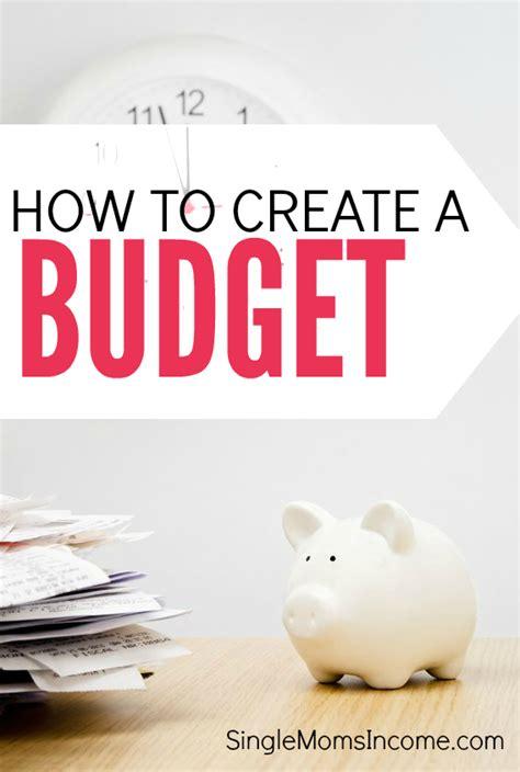 Make Budget How To Create A Budget Plus Free Budget Worksheet