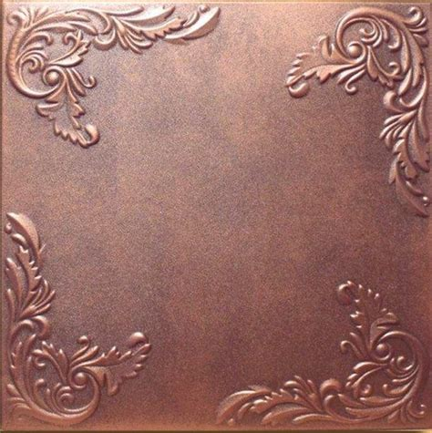 real copper ceiling tiles 1000 ideas about styrofoam ceiling tiles on
