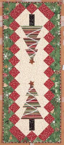 patchwork christmas tree runner pattern christmas table runner something new for your holiday