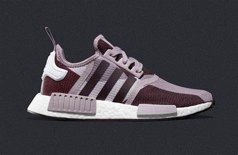 Adidas Nmd Purple Burgundy adidas nmd r1 blanch purple sneakerb0b releases