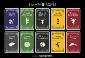 which of thrones house are you based on political