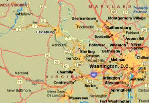 Map Of Northern Virginia by Map Of Northern Virginia Related Keywords Amp Suggestions