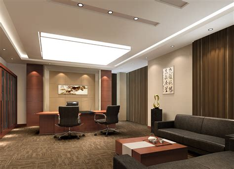 ceo office interior design ceo office chinese modern style