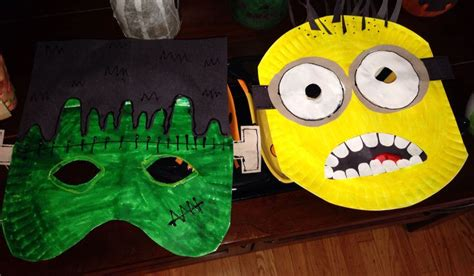 Mask With Paper Plates - paper plate masks class idea for