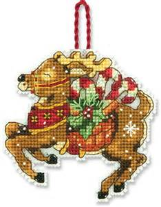 ornament cross stitch dimensions reindeer ornament cross stitch