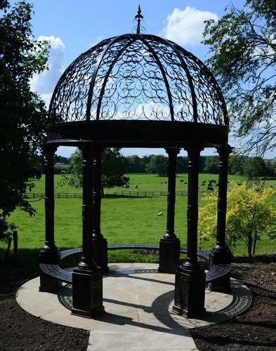 Cast Iron Gazebo Medium Stately Gardens Cast Iron Pergola