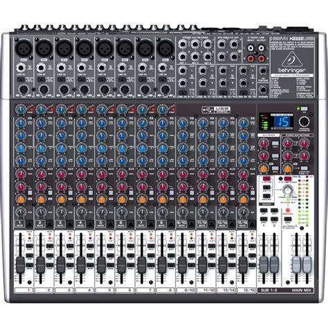 Mixer Audio Behringer Xenyx X1222usb behringer xenyx x1222usb image 907417 audiofanzine