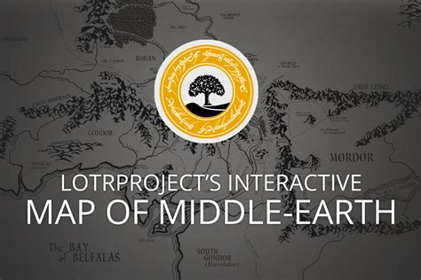 the hobbit interactive map middle earth news the tolkien society announces award