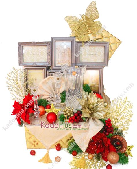 parcel natal glamorous home set 2 toko bunga