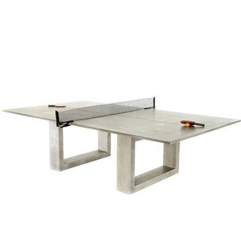 de wulf standard concrete ping pong table at 1stdibs