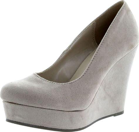 soda womens s wedge platform pumps shoes ebay