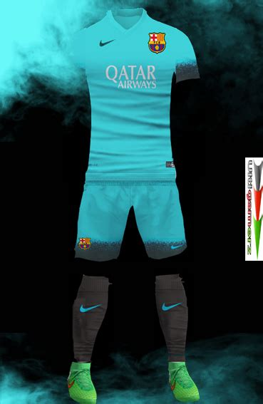 Kaos 3d Soulpowerstyle Fc Barcelona ultigamerz fc barcelona 2015 16 third kit update pes 2013