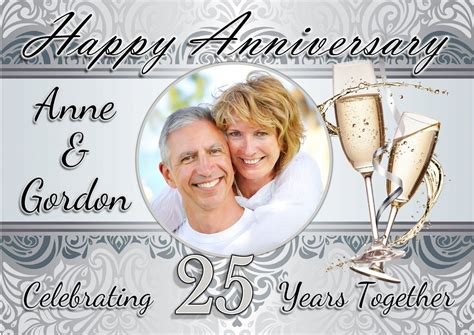 Wedding Anniversary Banner Template by Invitation Templates Year 1 Choice Image Invitation
