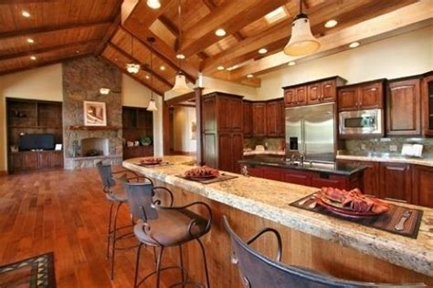 rustic open floor plans pin by kymberly lewallen brown on for the home pinterest