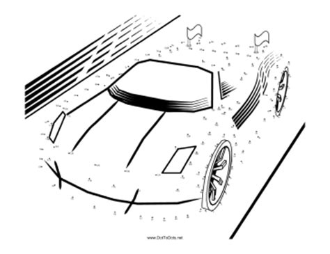 printable dot to dot cars printable sports car dot to dot puzzle