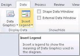 visio legend shape data graphics legends in visio 2010 visio insights