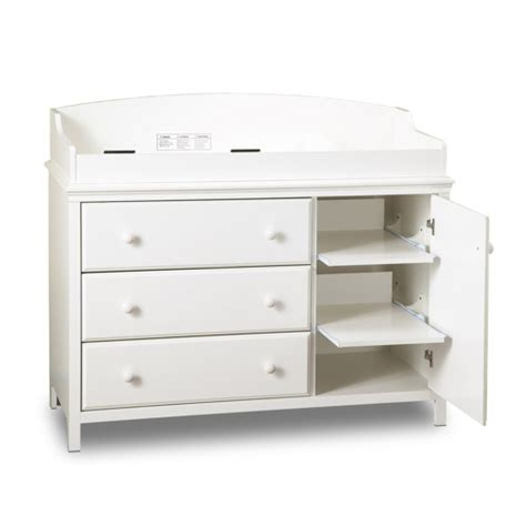 Detachable Changing Table South Shore Cotton Changing Table With Removable Changing Station White Change