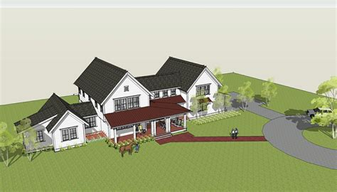 farmhouse plans brenner architects new modern farmhouse design completed