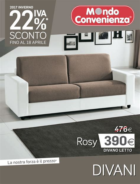 divano mondoconvenienza mondo convenienza catalogo divani inverno 2017