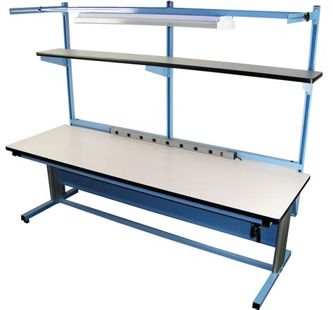 Mobile Workbench With Folding Shelf Remarkable Home Design