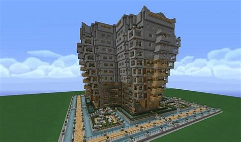 Apartment Building Minecraft Project