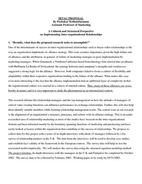 marketing research paper exle best photos of marketing research paper outline research