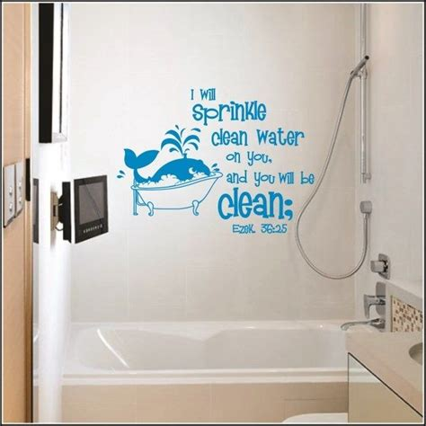 wall sticker bathroom 17 best images about wall decals on vinyls notes and wall quotes