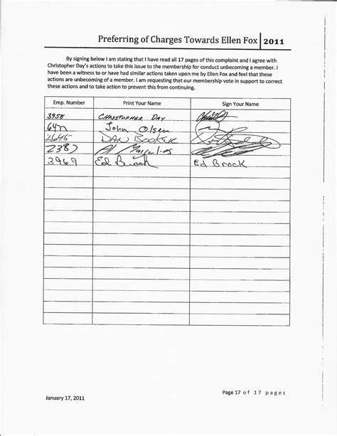 signature petition template fox says al margulies signature is forged