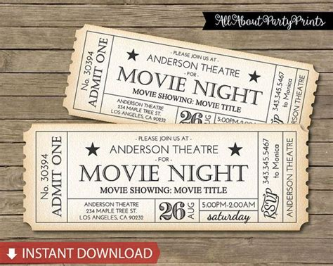 best 25 movie tickets ideas on pinterest
